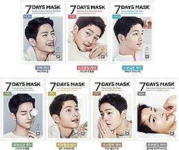 Forencos 7 Days Mask Pack 1Set(7pcs) Song Joong Ki Mask 태양의 후예 송중기 25ml*7