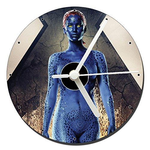 MasTazas X Men Mistica Jennifer Lawrence Reloj CD Clock 12cm