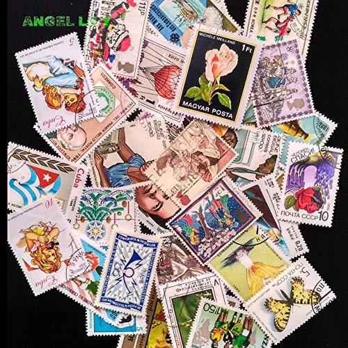 100 stks/partij postzegels Goede Staat Gebruikt Met Poststempel Van Merk verzamelen All The World stempel Nieuwe Aankomst