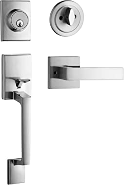 Berlin Modisch Single Cylinder HandleSet with Lever Door Handle (for Entrance and Front Door) Reversible for Right and Left H