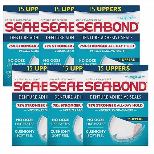 Sea Max El Paso Mall 62% OFF Bond Secure Denture Adhesive Seals Original Fr Zinc Uppers