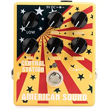 DidaMusic Caline CP-55 American Sound Guitar Effect Pedal Amplifier Simulation