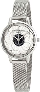Olivia Burton Womens Analogue Quartz Watch with Stainless Steel Strap OB16AN01
