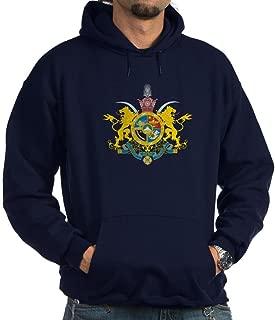CafePress Iran Coat of Arms (Pahlavi Dy Hoodie Sweatshirt