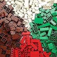 クラシックビルディングブロックおもちゃ| 500クリエイティブパーツ| 4色| 8種類の仕様| 6歳以上の子供に最適 高性能価格比| 主要な国際ブランドとの互換性| 教育玩具 (配色一)