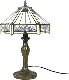 ZH1 Lampe Tiffany, Lampe De Bureau, Lampe De Bureau Vintage, W12H18 inch Lampe pour Le Salon Chambre Style Simple, Art De ...