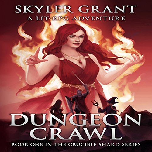 Dungeon Crawl audiobook cover art