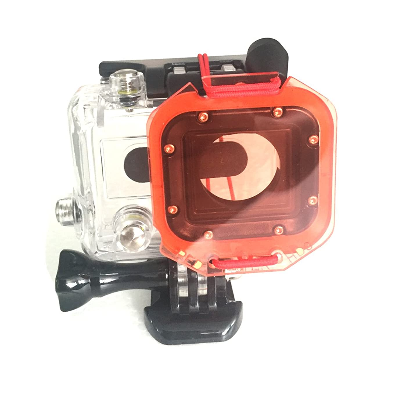 TANSUO Snorkel Red Filter for GoPro Hero3 with Elastic rope, Strong and Not easy to Fall