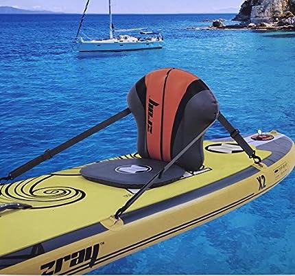 Zray Siège Kayak Gonflable Asiento, Unisex Adulto, Gris, Talla única
