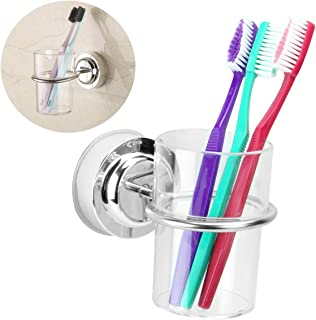Amazon Com Toothbrush Holders Stainless Steel Toothbrush Holders Holders Dispensers Home Kitchen