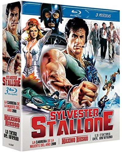Pack Stallone Máximo Riesgo Cliffhanger + La Cocina Del Infierno Paradise Alley + La Carrera De La Muerte Death Race 2000