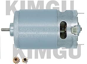 KIMGU Motor RS-550VC DC 10.8V 15000rpm Replace for BOSCH MAKITA DEWALT HITACHI Milwaukee DEKO HILTI RYOBI DELTA Ridgid Black and Decker Cordless Drill motor DC 10.8V