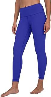 90 Degree By Reflex High Waist Silky Smooth and Shiny V-Back Capri Leggings
