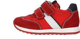 Nero Giardini P923451M Sneakers Kids da Bambino in Pelle, Camoscio E Tela
