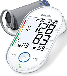 """Beurer BM55 Upper Arm Blood Pressure Monitor, Large Cuff 