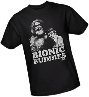 Bionic Buddies - The Six Million Dollar Man Adult T-Shirt