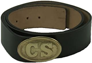 Civil War Reproduction Waist Belt and Buckle Package - C.S.