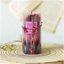 ZCDZJXB Romantic Flower Aromatherapy Candle Holder Essential Oil Smokeless Birthday Candle Wedding Decoration Home Decorat...