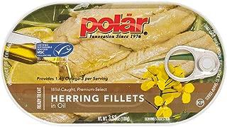 MW polar Herring Fillets in Oil, 3.5 Ounce (Pack of 18)
