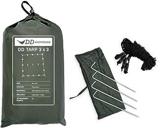 Dd Tarp 3M X 3M - Olive Green (10Ft X 10Ft)
