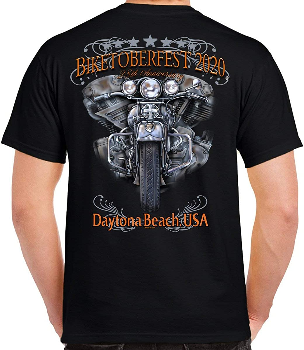 2020 Biketoberfest Daytona Beach Ride to Remember T-Shirt