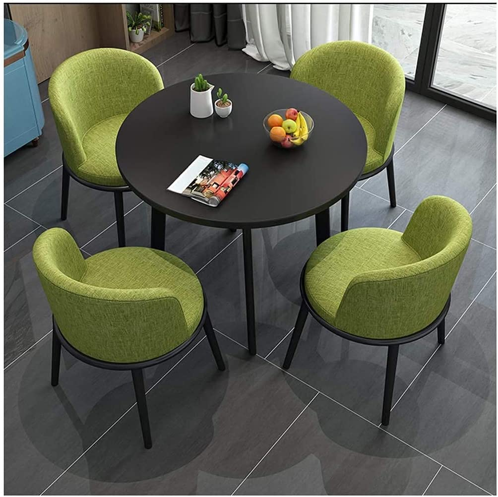 Dining Table and Chair Set Round Dessert C Outlet sale feature Bar ...