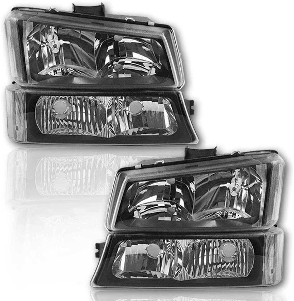 Bargain sale BRYGHT Headlight Assembly Fit for 2003 C 2006 Chevy to Large-scale sale Avalanche
