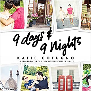 9 Days and 9 Nights                   Auteur(s):                                                                                                                                 Katie Cotugno                               Narrateur(s):                                                                                                                                 Allyson Ryan                      Durée: 7 h et 26 min     1 évaluation     Au global 4,0