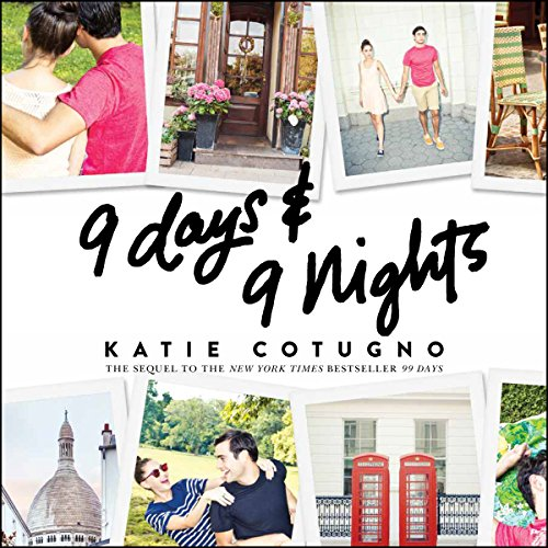 9 Days and 9 Nights                   By:                                                                                                                                 Katie Cotugno                               Narrated by:                                                                                                                                 Allyson Ryan                      Length: 7 hrs and 26 mins     16 ratings     Overall 4.5