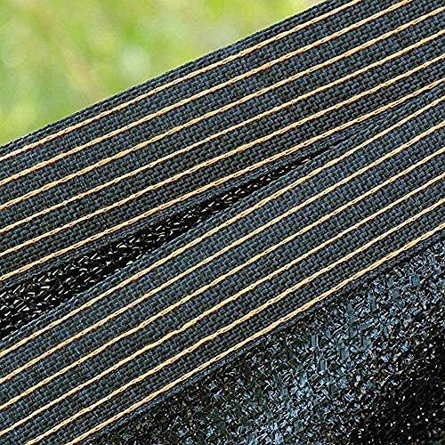 H.ZHOU sombra parasol tela malla duradera UV protección solar para jardines flores plantas invernaderos animales 4x5m/14x5ft 0917