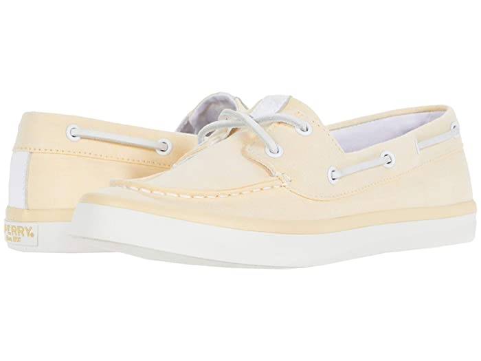 Sperry  Sailor Boat Chambray (Yellow) Womens Shoes