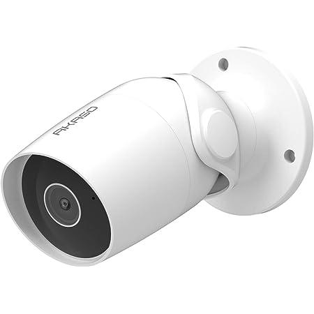 Outdoor Kamera 1080p Akaso B60 Überwachungskamera Aussen Wlan Ip65 Wasserdicht Mit Bewegungserkennung Nachtsicht Zwei Wege Audio Wireless Außenkamera Kompatibel Mit Alexa Google Home Fire Tv Baumarkt