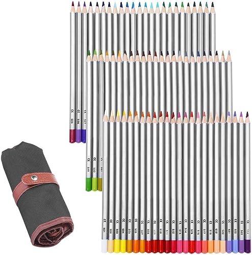 GHB Buntstift Zeichnung Bleistift Stifte 72 rben Zeichnung Farbe für Künstler Skizzen Erwachsene Secret Garden Kinder Künstler rotaktion mit 1 stenlosen Tasche