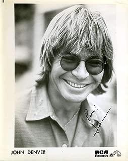 JOHN DENVER Coa Hand Signed 8x10 Photo Autograph Authentic - JSA Certified