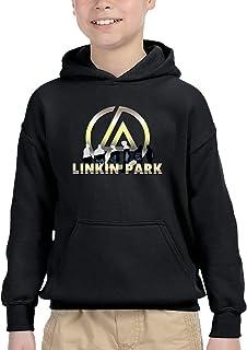 Linkin Park リンキン?パーク パーカー プルオーバー ボーイズ トレーナー スウェット 長袖 トップス 秋冬 無地 フード ゆったり オシャレ 男の子 女の子