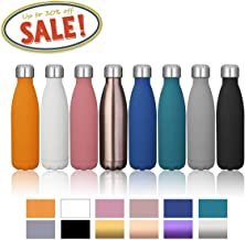 king do way 17oz Double Wall Vacuum Cool Insulation Stainless Steel Water Bottle Leak- Proof and No Sweating Perfect for Summer Outdoor Sports Camping Hiking Cycling