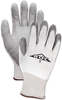 MAGID Mechanics Work Gloves | Coated Mechanic Gloves for Work - Mens & Womens - Grey/White - Size 6 (XS) - 12 Pair