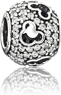 Pandora Sterling Silver Disney's Mickey Silhouettes Charm 791442CZ