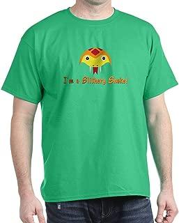 CafePress SLITHERY Snake Dark T Shirt Cotton T-Shirt