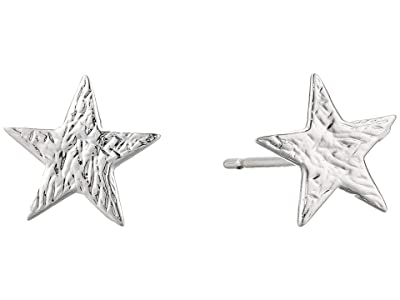 gorjana Small Star Studs Earrings (Silver) Earring