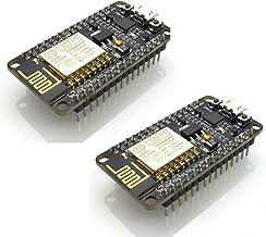 HiLetgo 2pcs ESP8266 NodeMCU CP2102 ESP-12E Internet WiFi Development Board Open Source Serial Wireless Module for Arduino