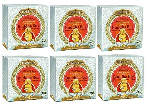 Buddha Box Bio-Tee 6 Packungen à 11 Teebeutel