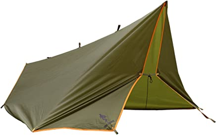 FREE SOLDIER Waterproof Portable Tarp Multifunctional Outdoor Camping Traveling Awning Backpacking Tarp Shelter Rain Tarp