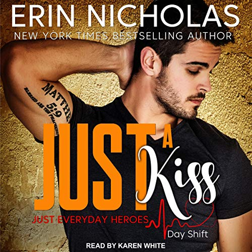 Just a Kiss audiobook cover art