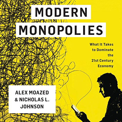Modern Monopolies audiobook cover art