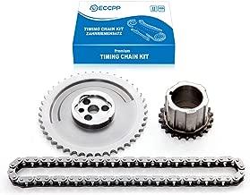 ECCPP TK6080 Timing Chain Kit Crank Sprocket Cam Sprocket Replacement for 03-07 Cadillac Chevrolet GMC Isuzu Pontiac 5.3L 6.0L V8