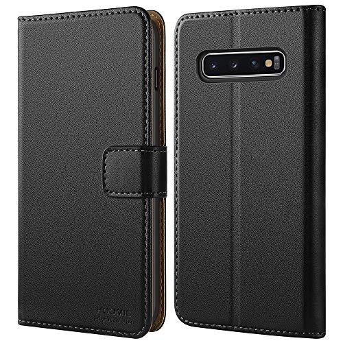HOOMIL Funda Compatible con Samsung Galaxy S10 Plus Carcasa (Negro)