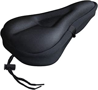 Zacro Gel Bike Seat Cover- Extra Soft Gel Bicycle Seat – Bike Saddle Cushion with..