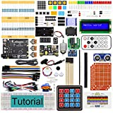 Freenove Ultimate Starter Kit with Board V4 (Compatible with Arduino IDE), 273-Page Detailed Tutorial, 217 Items, 51 Projects, Solderless Breadboard