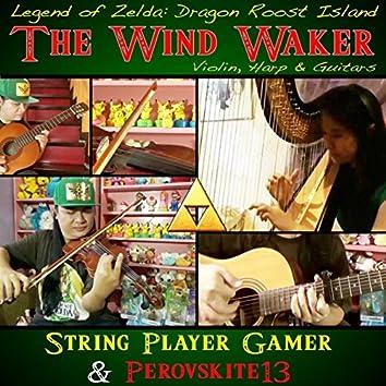 "The Wind Waker ( Dragon Roost Island from ""Legend of Zelda"")"